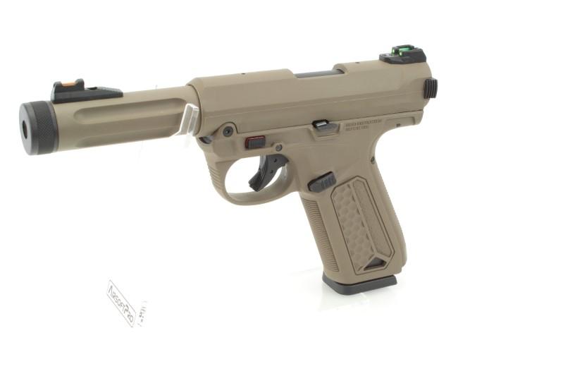 Airsoftová pistole AAP-01 Assassin GBB - FDE 360 foto