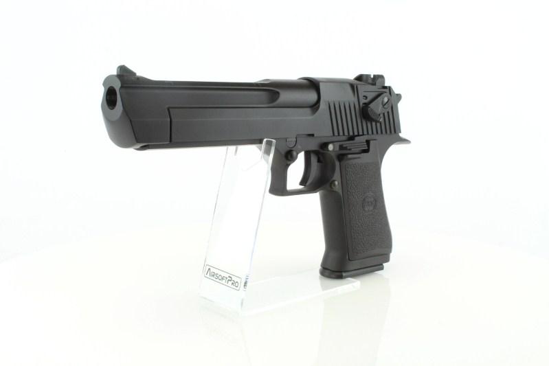 Airsoftová pistole DE .50AE CO2 , kovový závěr, blowback 360 foto