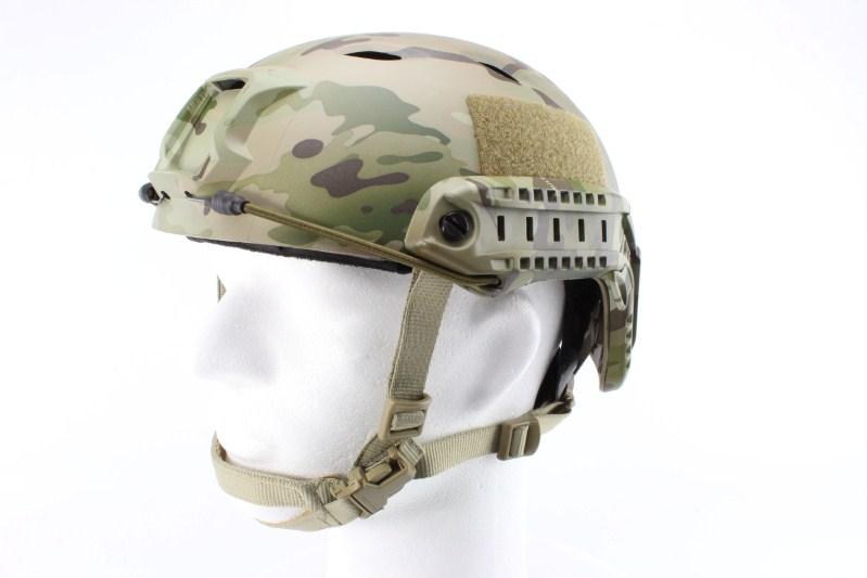 Vojenská helma FAST s příslušenstvím, typ BJ, Multicam, NOVÝ MODEL 360 foto