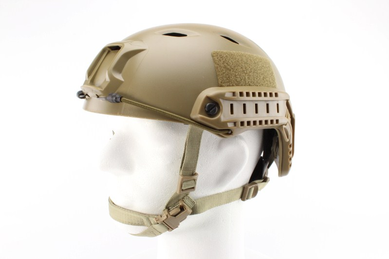 FAST Helmet - Base Jump type - DE colour, NEW MODEL 360 foto