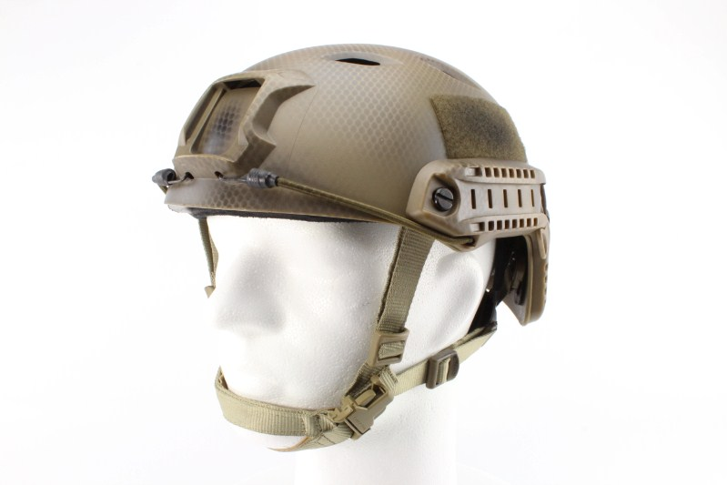 FAST Helmet - Base Jump type - Navy Seal, NEW MODEL 360 foto