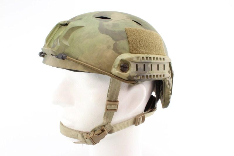 Vojenská helma FAST s příslušenstvím, typ BJ, Atacs FG, NOVÝ MODEL 360 foto