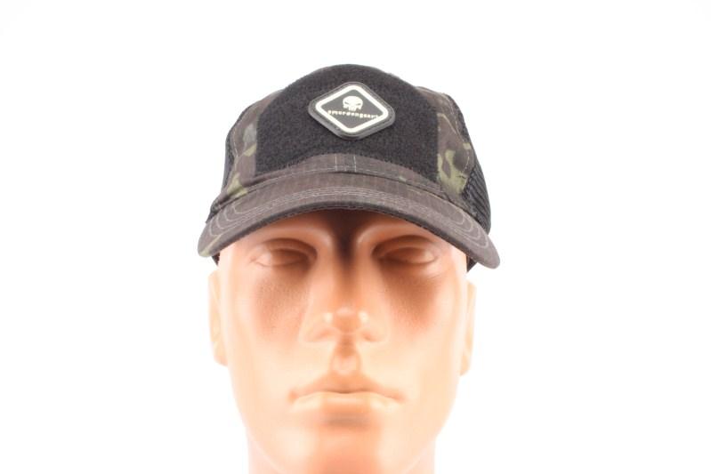 Vojenská čepice - kšiltovka se síťkou - Multicam Black 360 foto