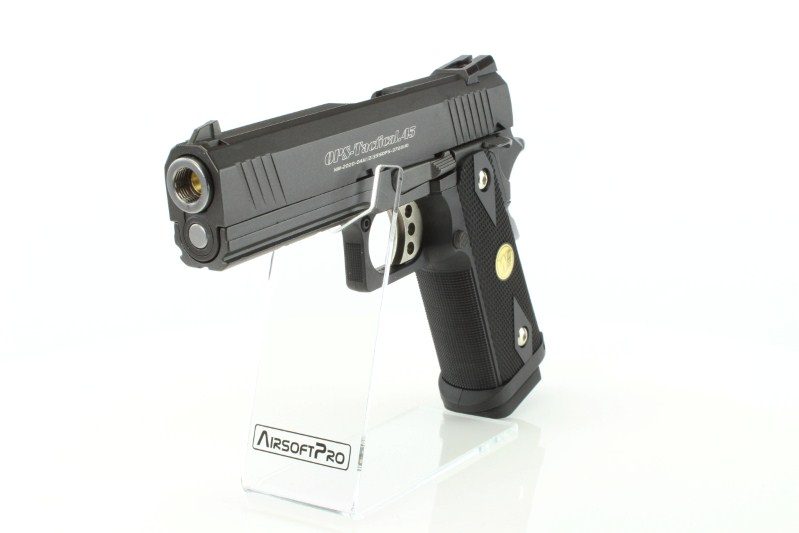 Airsoftová pistole Hi-Capa 4.3 OPS Special Edition - GBB, celokov 360 foto