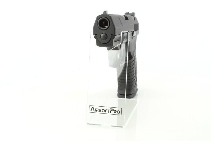 Airsoftová pistole E99 God of War - celokov, blowback, plyn - černá 360 foto