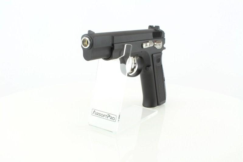 Airsoftová pistole KP-09 CZ75 - plyn, celokov, blowback, verze 2 360 foto