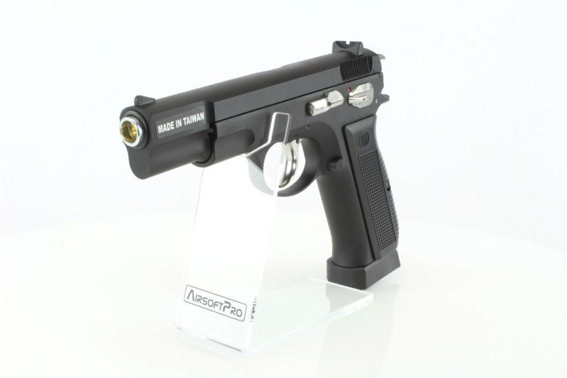 Airsoftová pistole KP-09 CZ75 - CO2, celokov, blowback, verze 2 360 foto