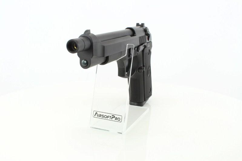 Airsoftová pistole M92L - celokov, blowback, CO2 verze 360 foto