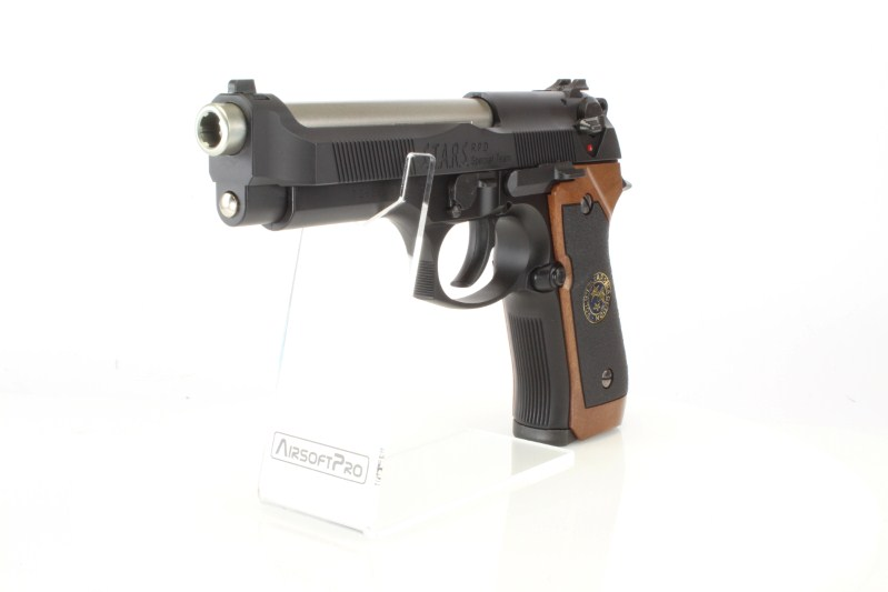 Airsoft pistol M92 Samurai Edge STD, gas blowback (GBB) 360 foto