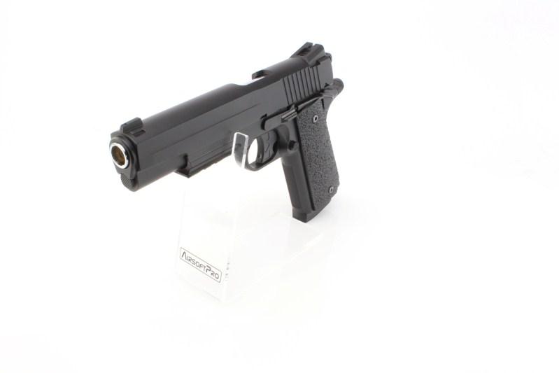 Airsoftová pistole 1911 GSR CO2 , kovový závěr, non-blowback - černá 360 foto