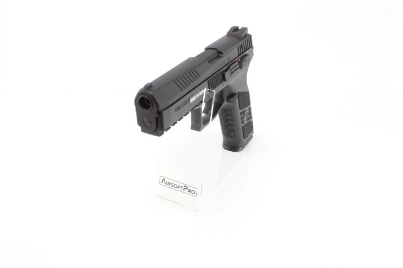 Airsoftová pistole CZ P-09 , černá, plyn Blowback 360 foto