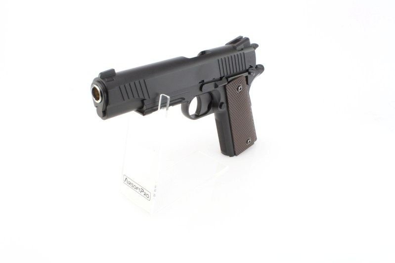 CQBP M45A1 CO2, metal slide, non-blowback - black 360 foto