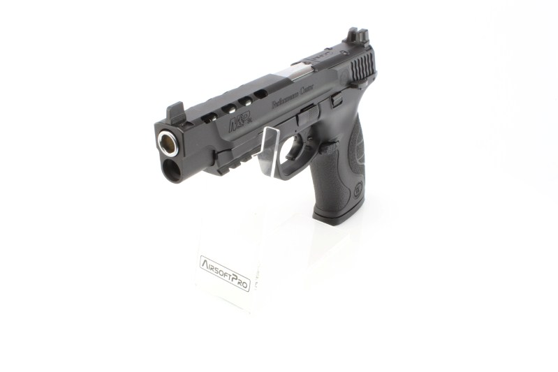 Airsoftová pistole M&P9L PC Ported , plyn blowback (GBB) 360 foto