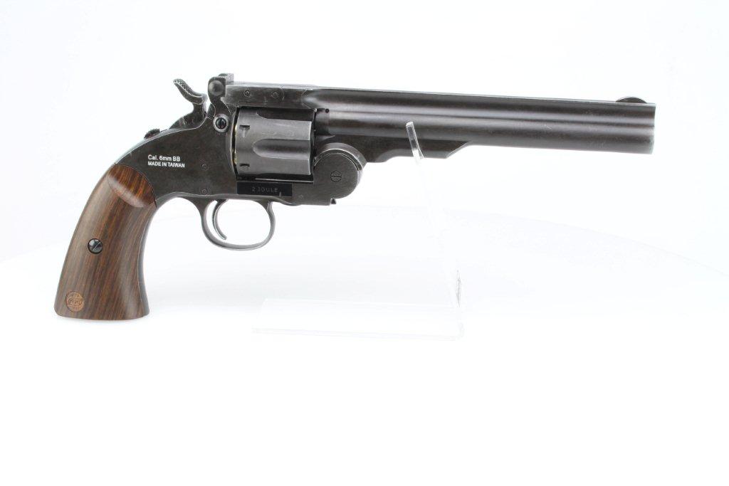 Airsoftový revolver Schofield 6
