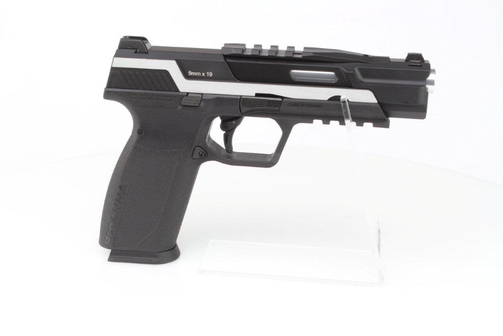 Airsoftová pistole Piranha TR, celokov, plyn blowback (GBB) - Dual Tone 360 foto