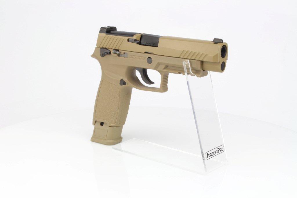 Airsoftová pistole SIG F17 (M17)  - GBB, celokov - TAN 360 foto