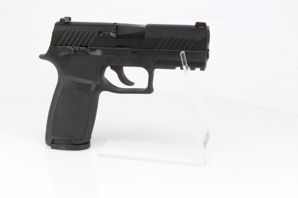 Airsoftová pistole SIG F18 (M18)  - GBB, celokov - černá 360 foto