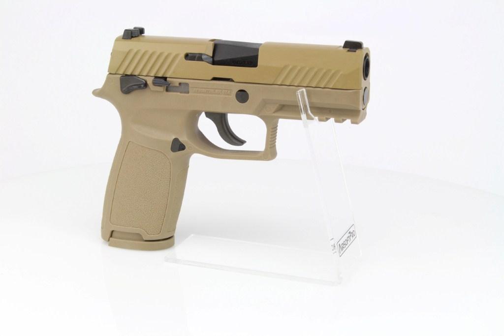 Airsoftová pistole SIG F18 (M18)  - GBB, celokov - TAN 360 foto