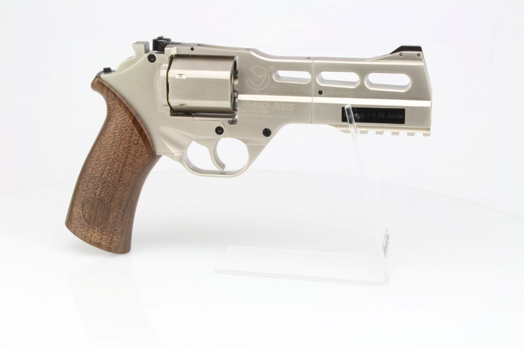 Revolver Chiappa Rhino 50DS CO2 - nickel 360 foto