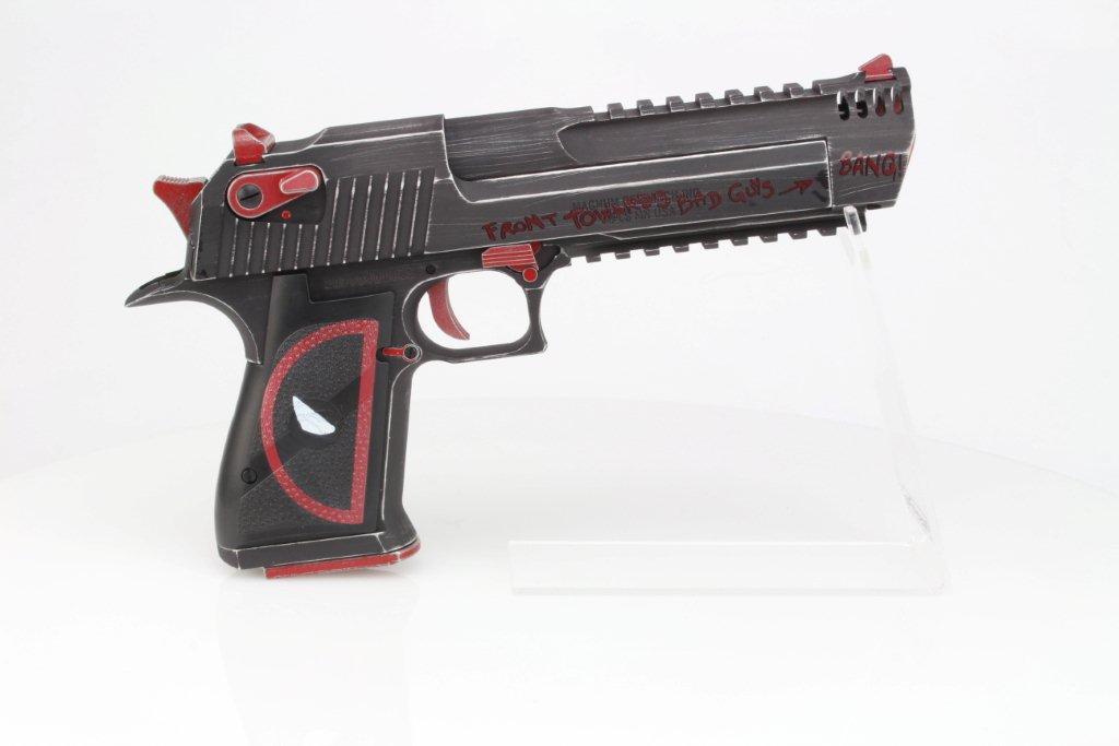 Airsoftová pistole DE L6 .50AE Dead Pool verze, kovový závěr, GBB 360 foto