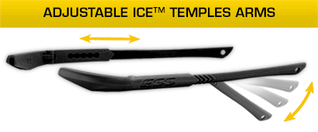 Adjustable ICE Temples Arms
