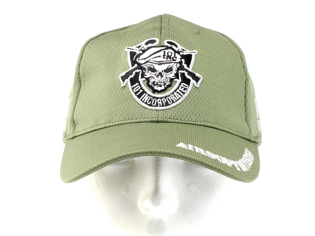 Kids cap ″101 Airsoft Division″ - green [101 INC]