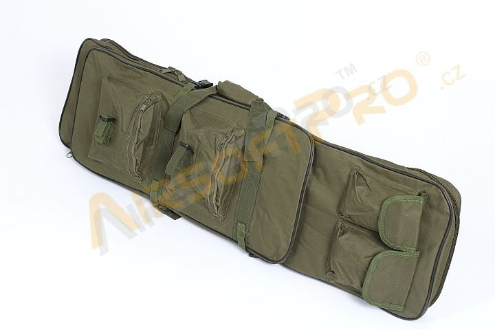Twin assault rifle carrying bag - 60 and 100cm - olive [A.C.M.]