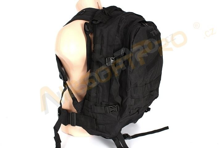 d563ed8b45 ... 3-Day Molle Assault Backpack Bag - Black A.C.M. super popular 7e54c  7ed8d ...