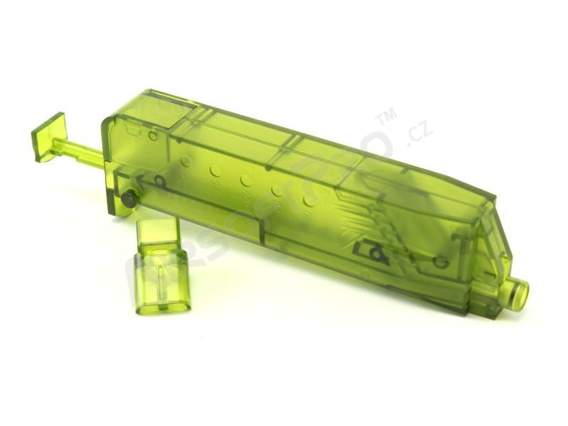 Airsoft 90-100 BBs speed magazine loader - green [6mm Proshop]