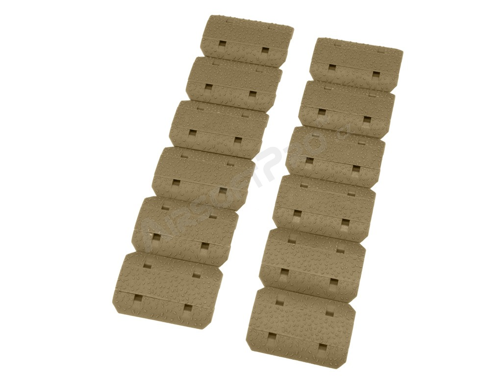 12pcs set of the KeyMod foregrip covers - TAN [A.C.M.]