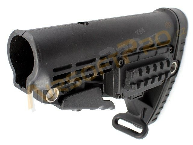 M4 retractable BDC stock - Black [A.C.M.]