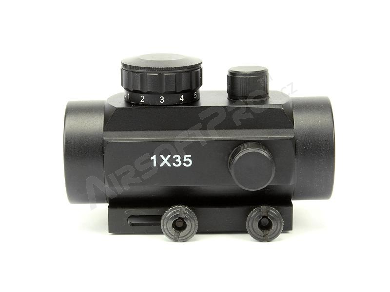 Red Dot 1x35 Reflex Sight with the flip-up covers [A.C.M.]