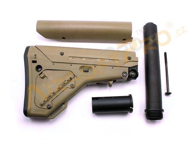 Butt Stocks Tubes M4 M16 Ubr Style Buttstock For M4 M16 De Tan