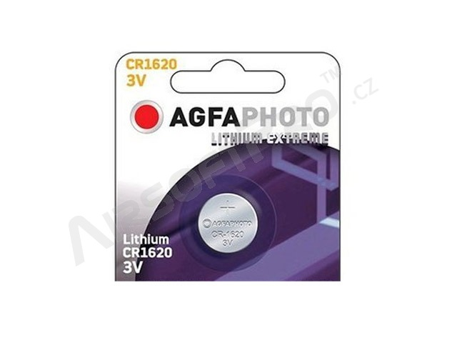 Lithium button battery 3V CR1620 [AgfaPhoto]