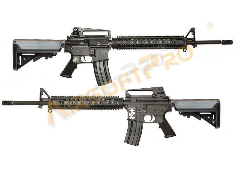 M4 M16 Sr25 416 M16a4 Ris Crane Stock Full Metal Htorque