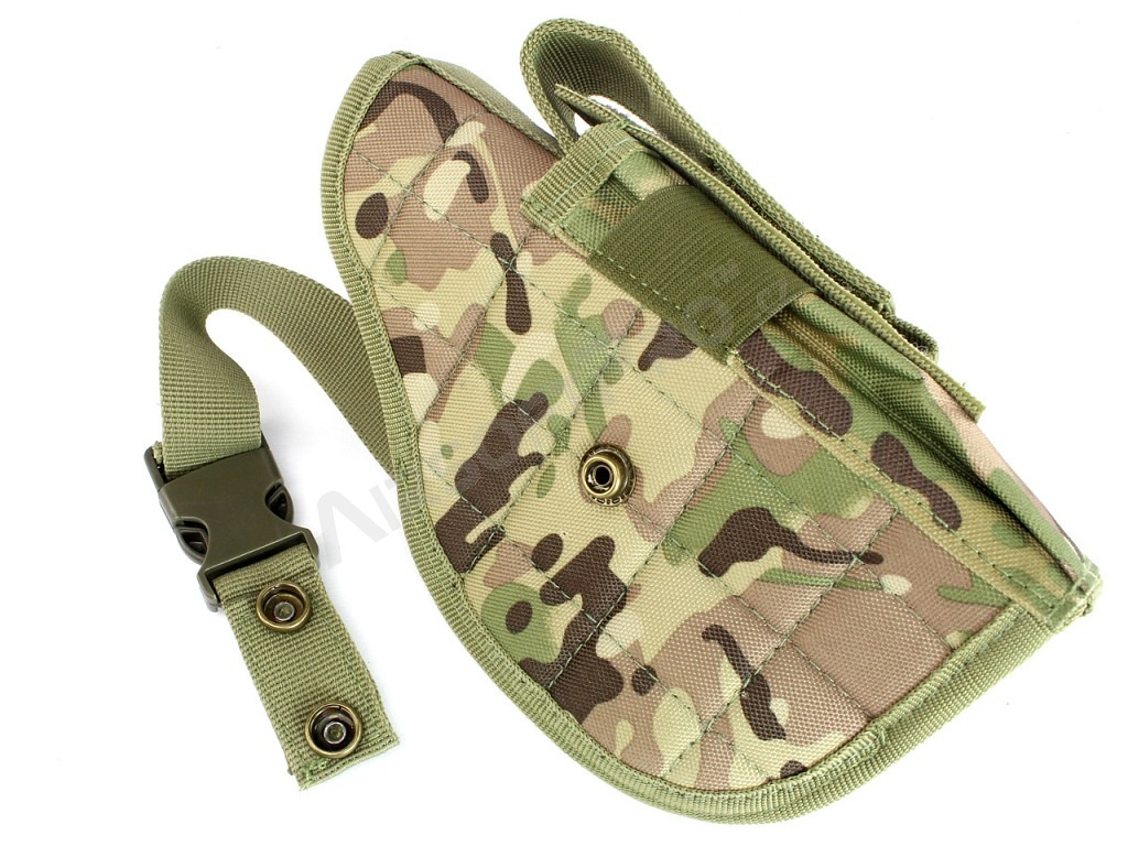 Universal tactical belt or MOLLE pistol holster - Multicam [AITAG]