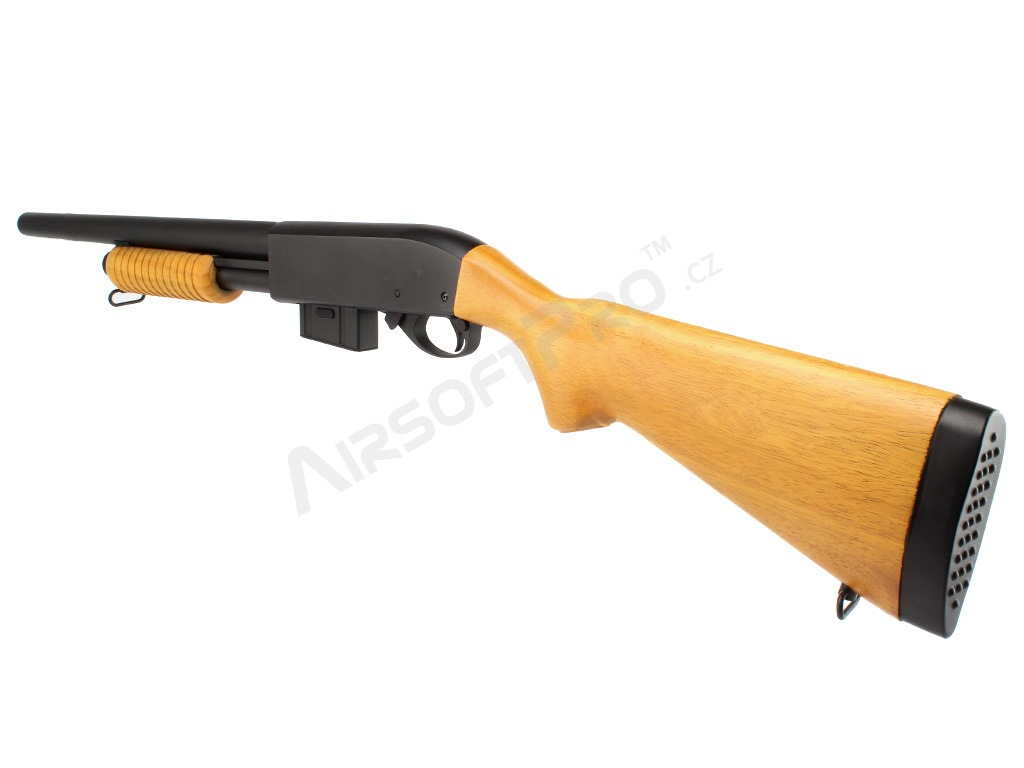 Airsoft shotgun M870 Long, wood (8870A) [A&K]