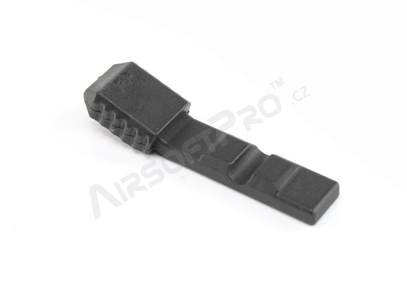 Metal bolt handle for A&K Masada - black [A&K]