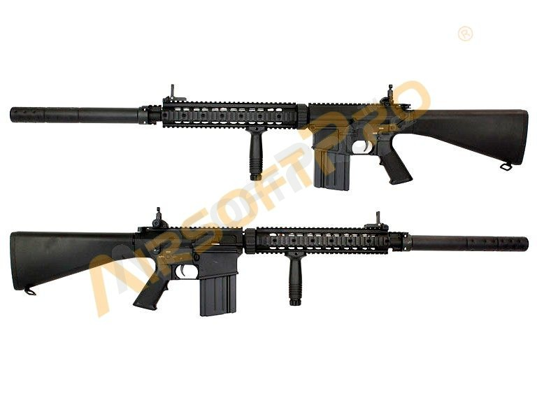 Airsoft rifle SR25 - Full metal [A&K]