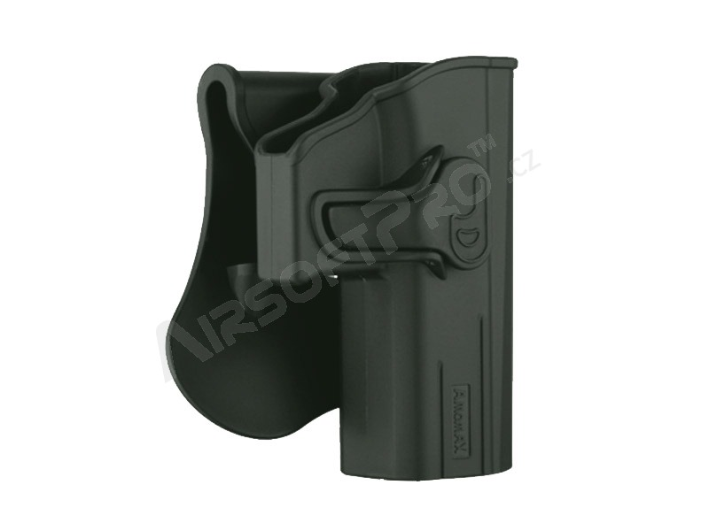 Tactical polymer holster for CZ P07, P09 - OD [Amomax]