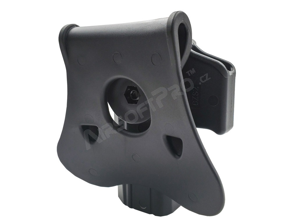 Tactical polymer holster for CZ SHADOW 2 - black [Amomax]