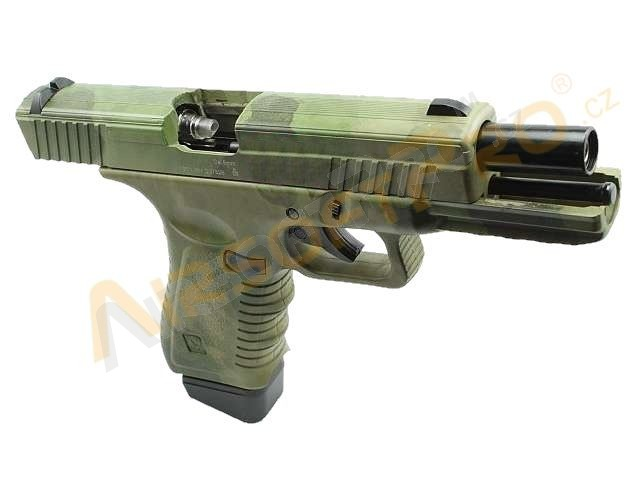 CO2 Action Combat 601 - blowback (ACP601) - ATACS FG / for display purpose [APS]