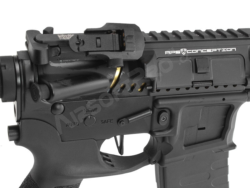 M4 ASR120B Match FMR MOD1 RB Black Dragon - black  [APS]