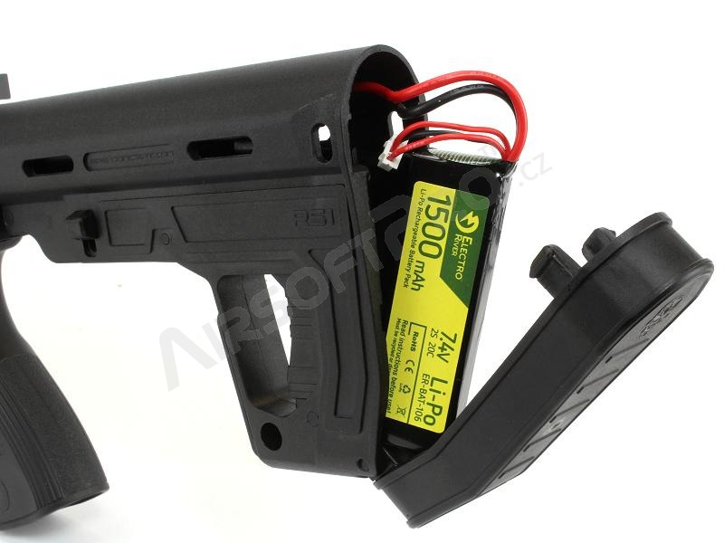 Battery RS-1 stock for M4 - black [APS]