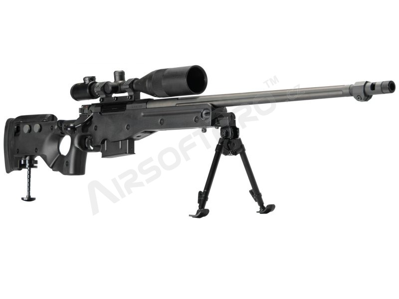 Airsoft sniper AW338, TX System (MSR-008) - OD [Ares/Amoeba]