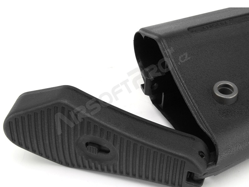 Ares M4 battery telescopic butt stock ver 02 - BK [Ares/Amoeba]