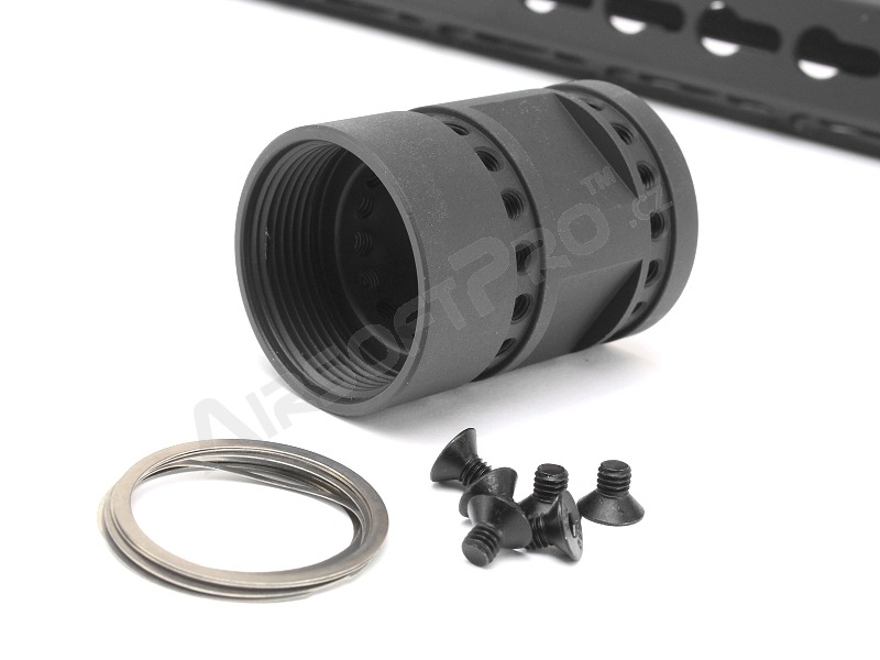 "Octarms™ Keymod style Float 7"" CNC Hand Guard - black [Ares/Amoeba]"