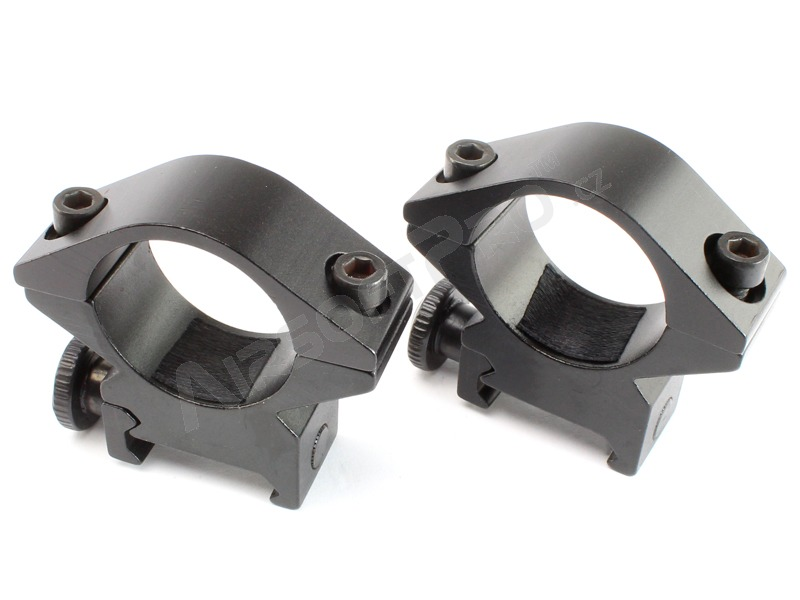 25,4mm scope mounts for common Picatiny RIS rails - low [ASG]