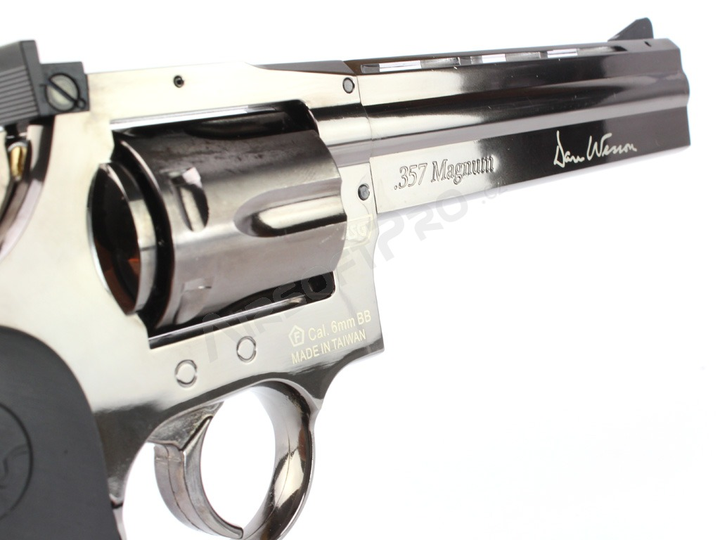 Airsoftový revolver DAN WESSON 715 - 6″ Steel Grey - CO2 [ASG]