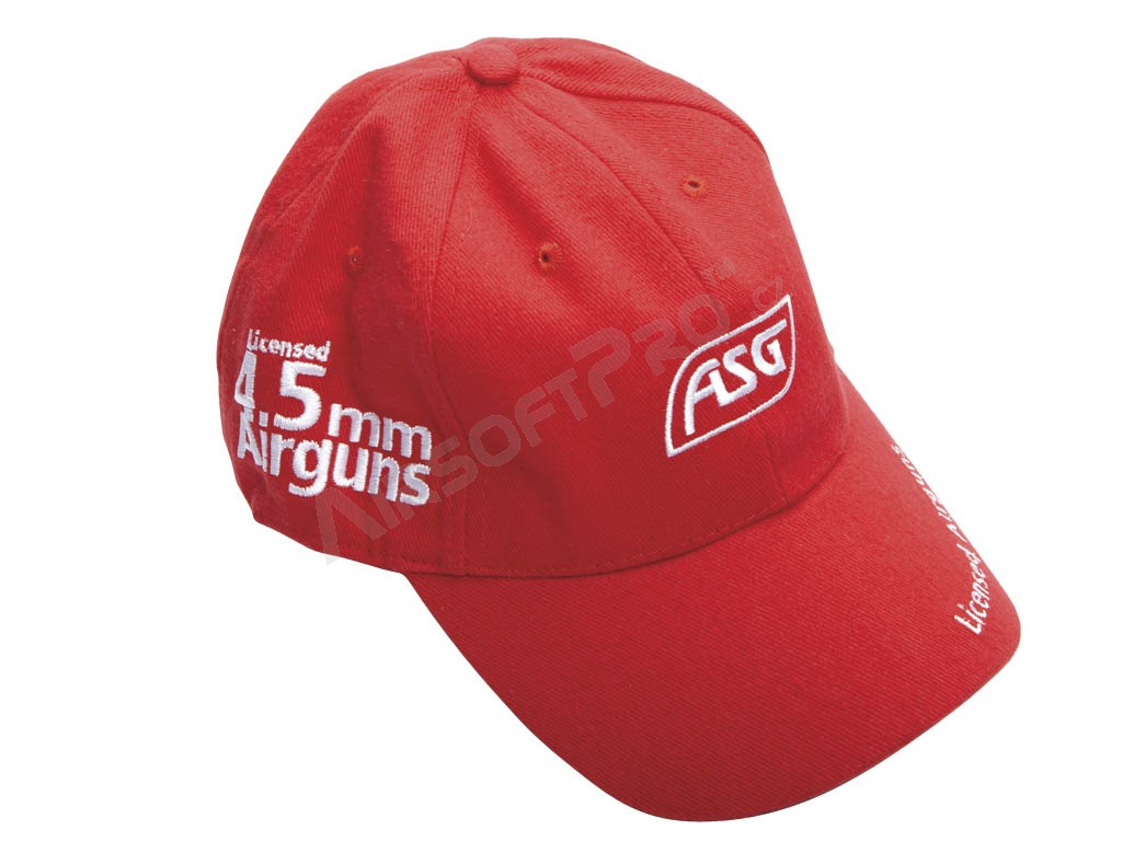 ASG sports cap - red [ASG]